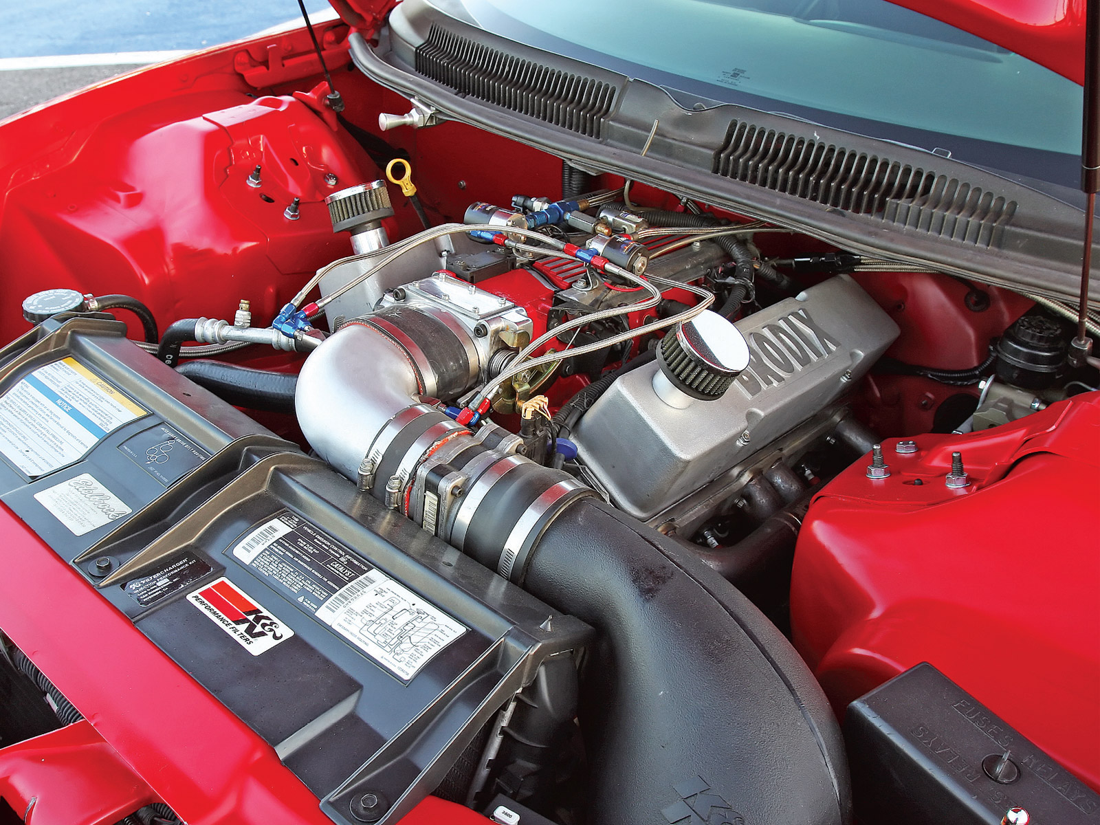 PONTIAC TRANS engine