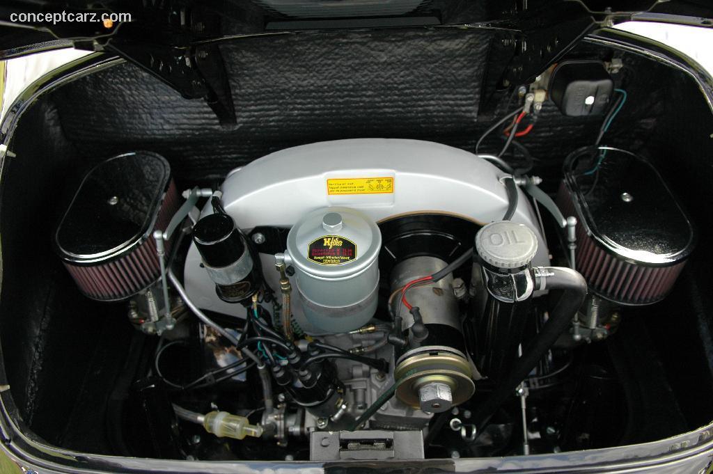 PORSCHE 356 1600 engine