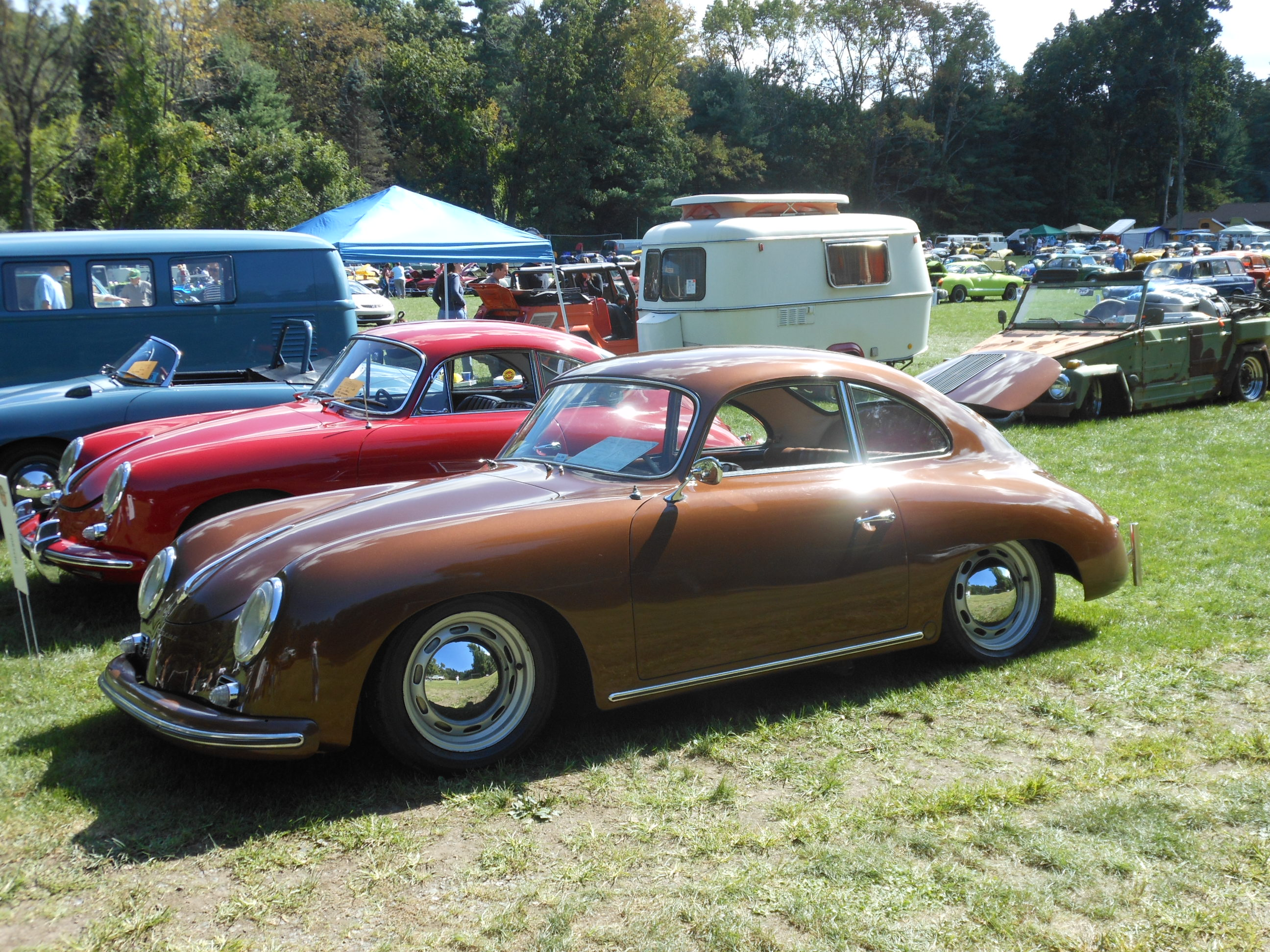 PORSCHE 356 brown