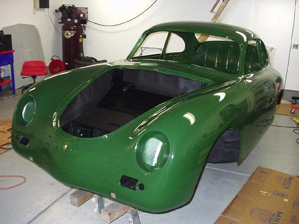 PORSCHE 356 green