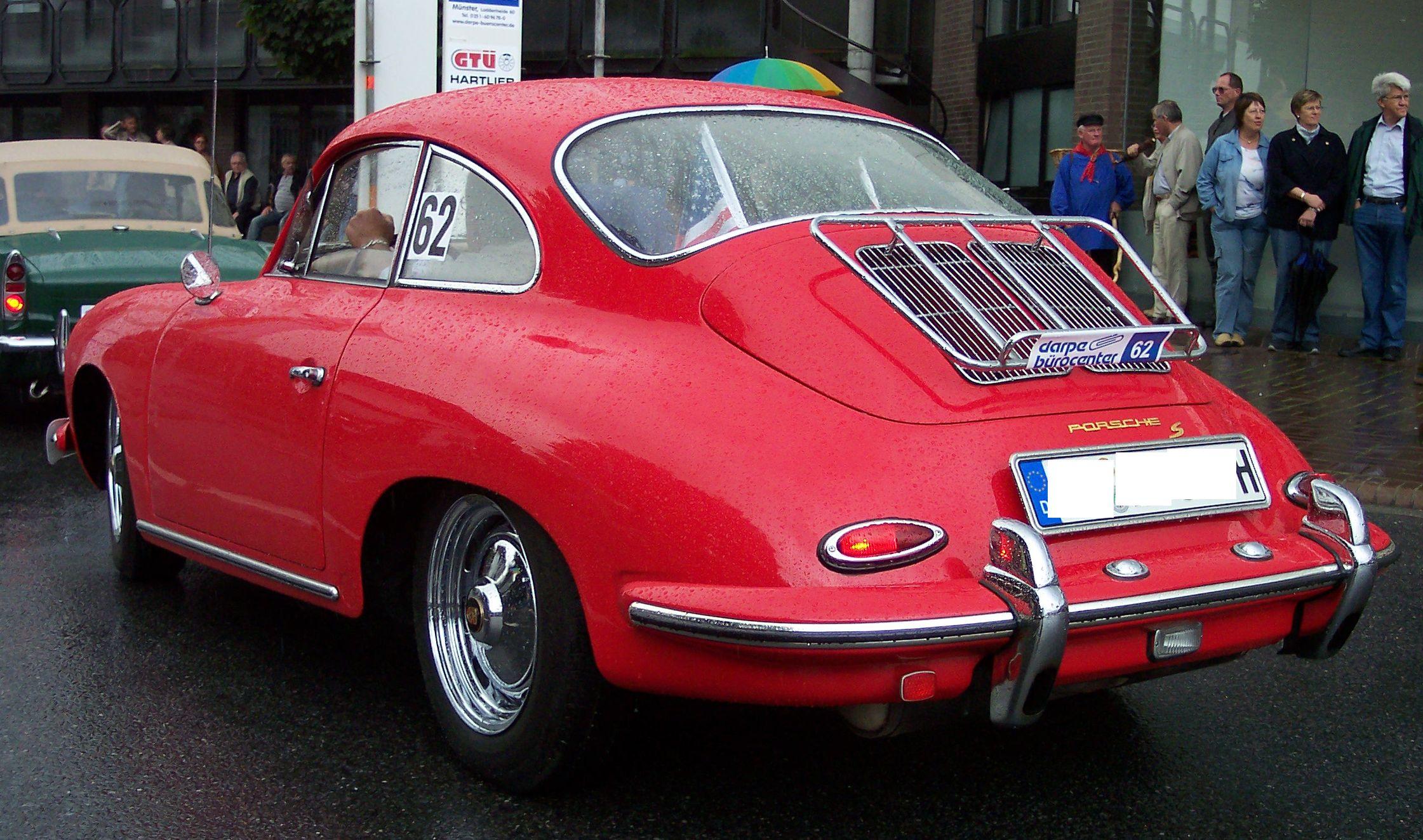 PORSCHE 356 red