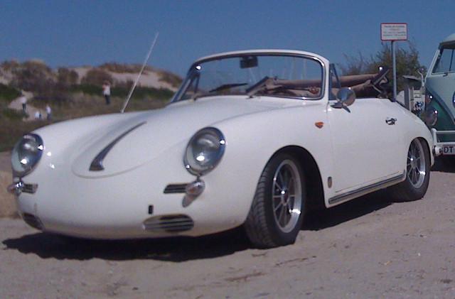 PORSCHE 356 white