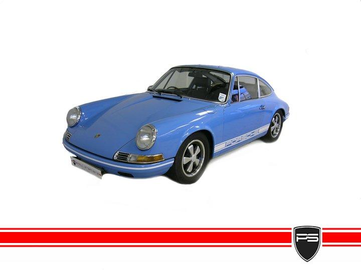 PORSCHE 911 2.2 T blue