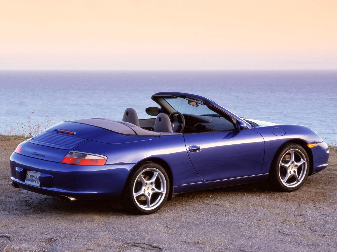 PORSCHE 911 blue