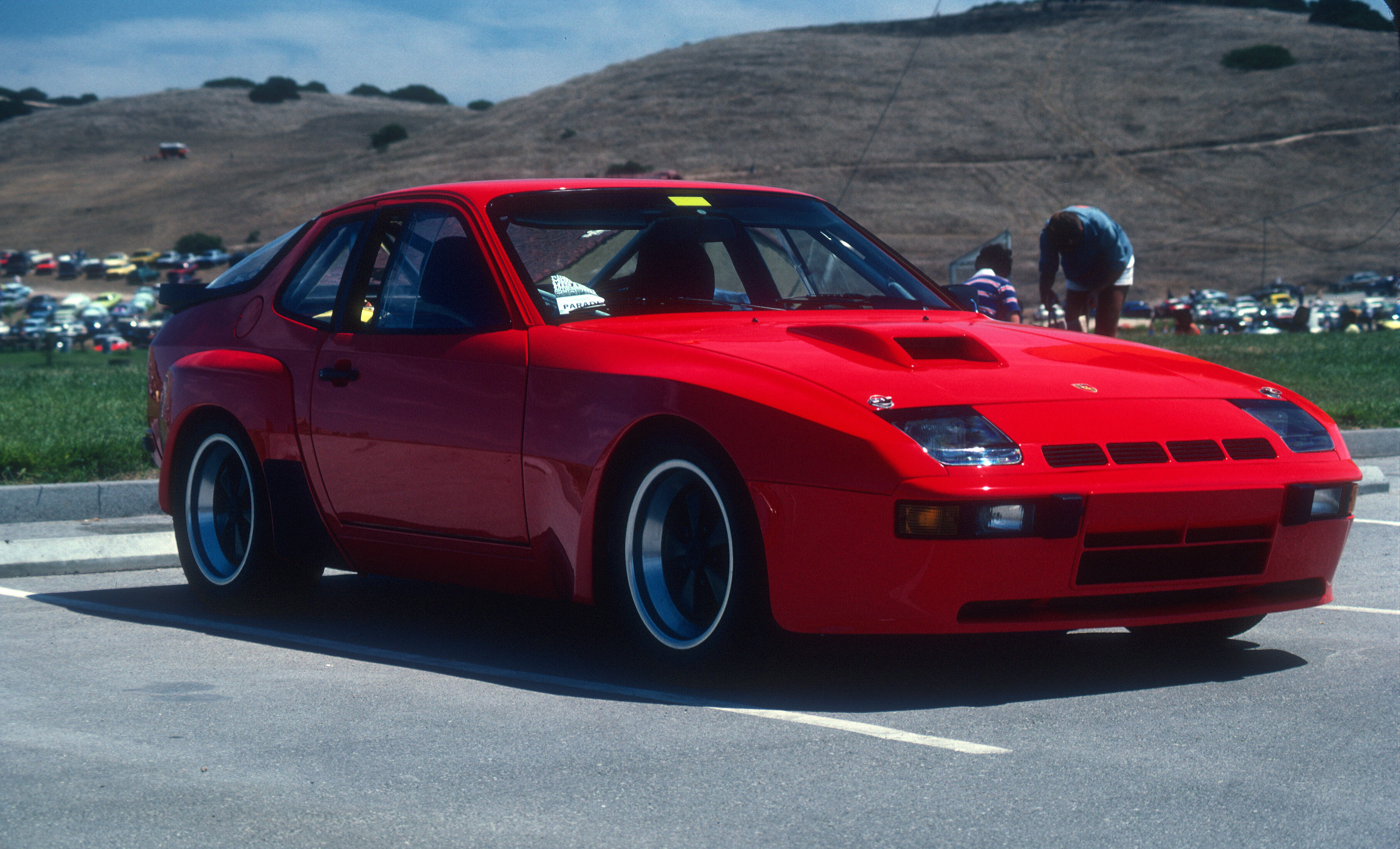 PORSCHE 924 CARRERA GTS red