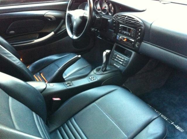 PORSCHE 986 BOXSTER S interior