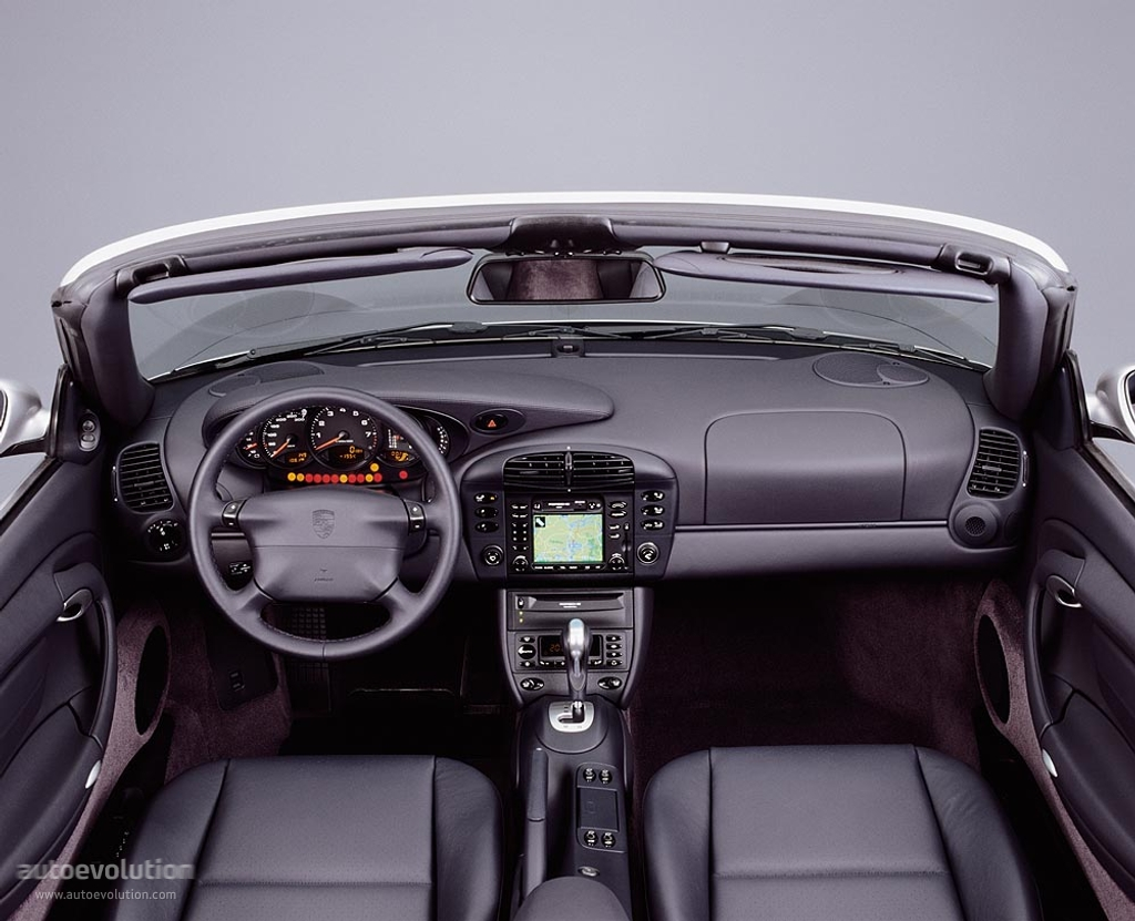 PORSCHE 996 CABRIOLET interior