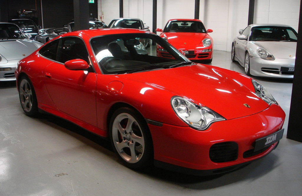 PORSCHE 996 red