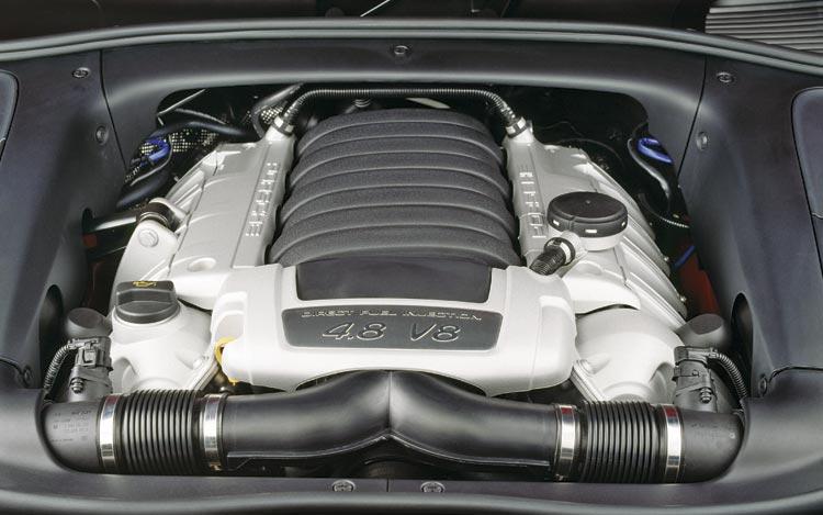 PORSCHE CAYENNE engine