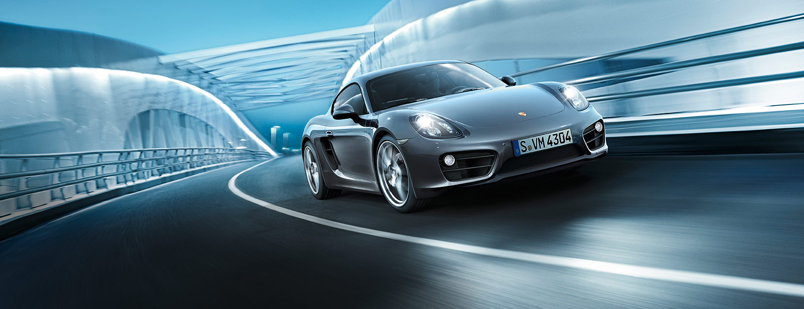 porsche wallpaper (Porsche Cayman)
