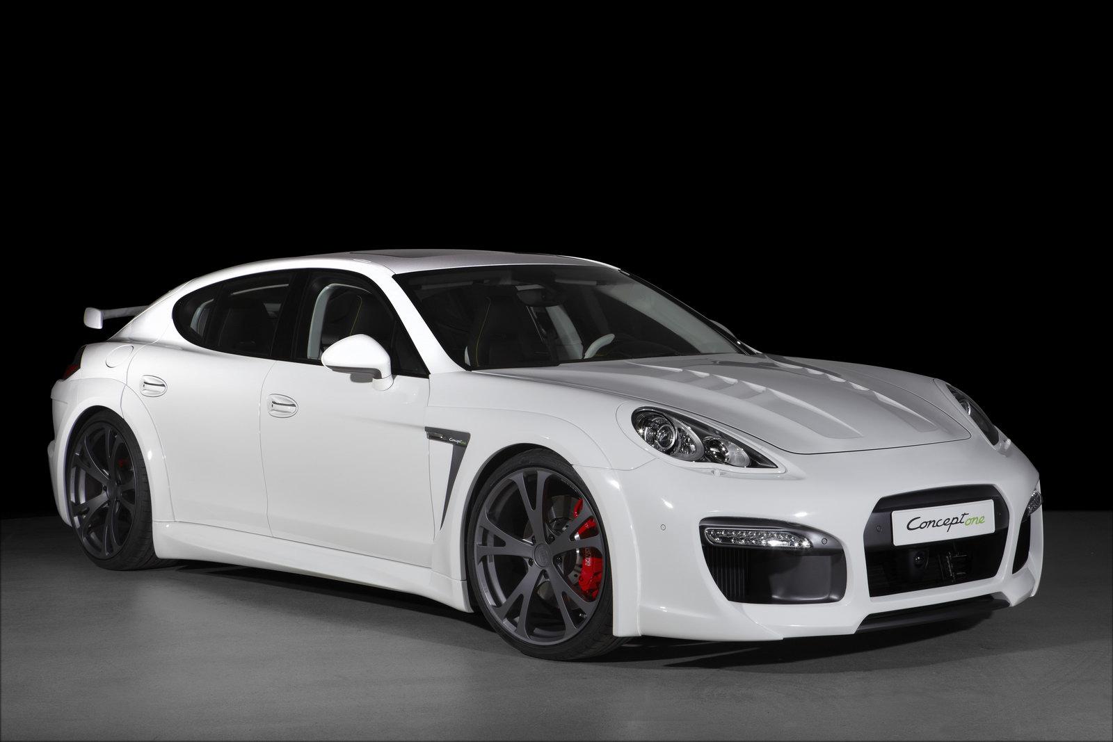 porsche panamera white - Porsche Panamera Black And White