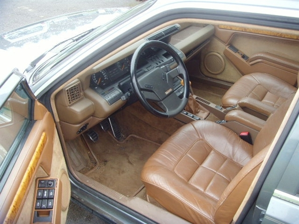 RENAULT 25 BACCARA interior