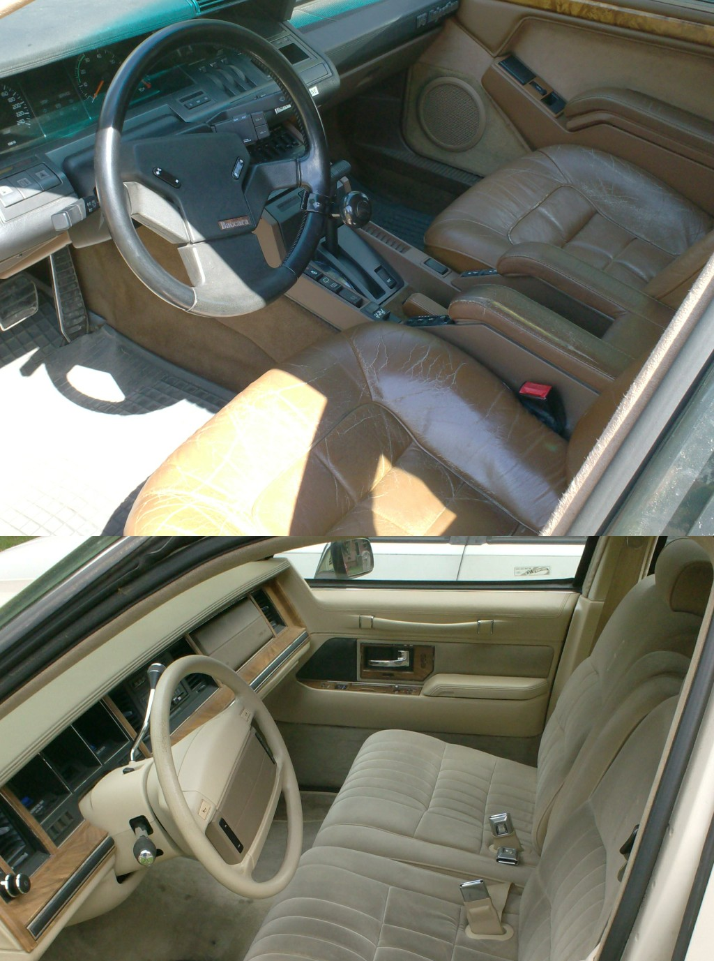 RENAULT 25 interior