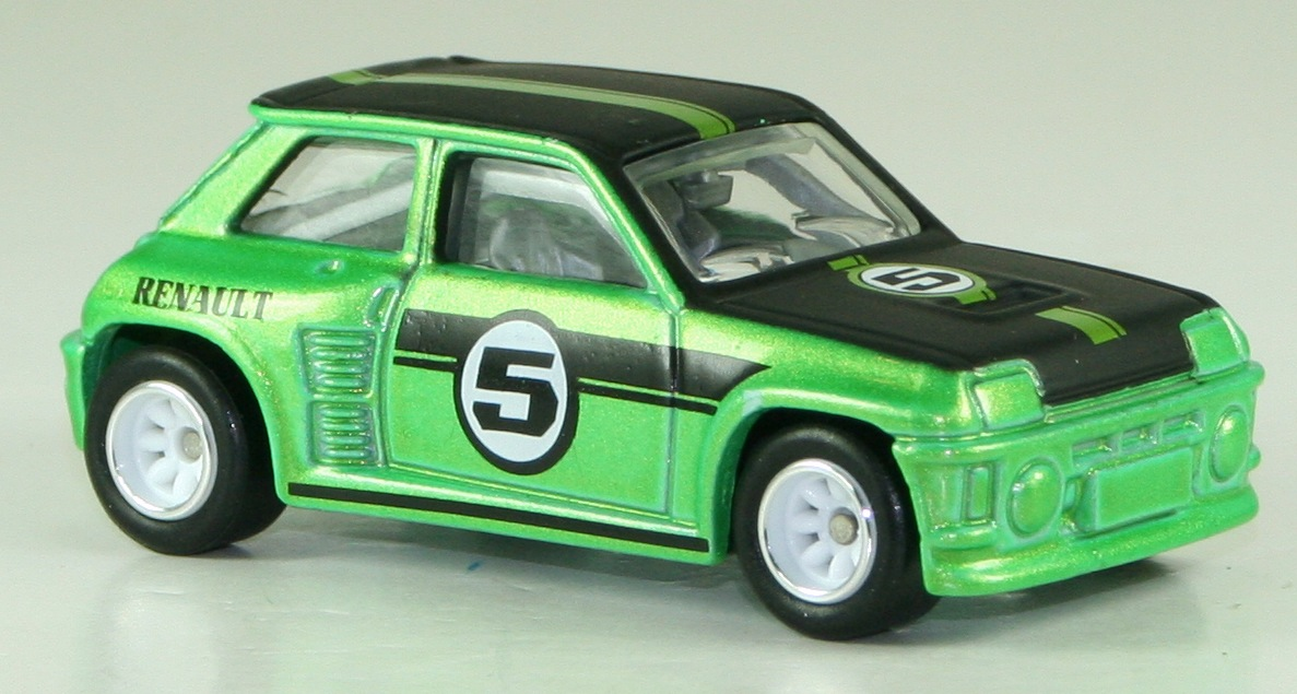 RENAULT 5 TURBO green