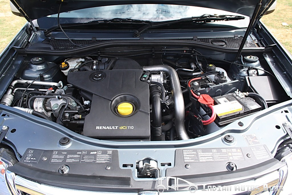 RENAULT DUSTER 1.6 engine