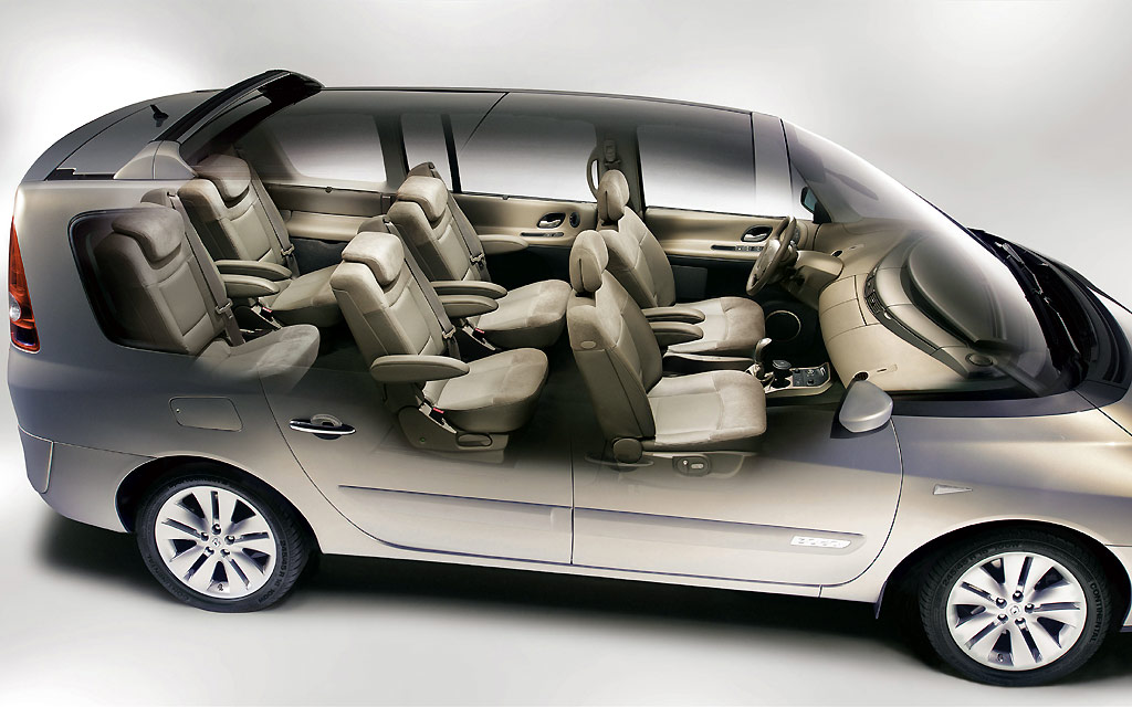 Renault espace review and photos for Renault espace 4 interieur