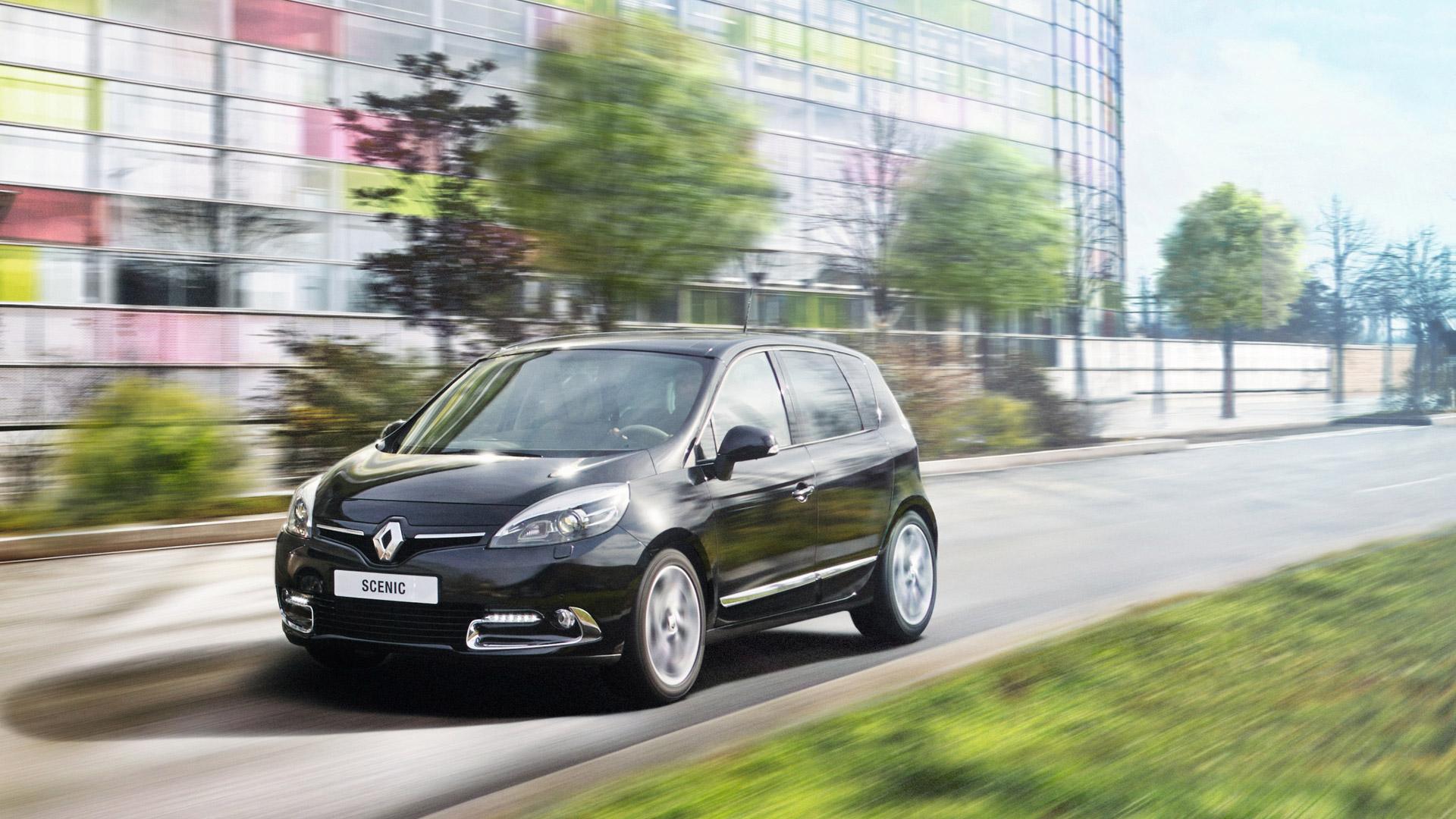 renault wallpaper (Renault Scenic)
