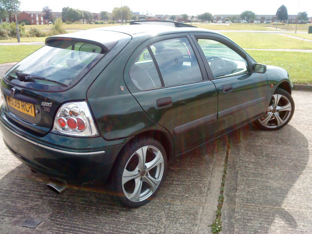 ROVER 200 1.6 brown