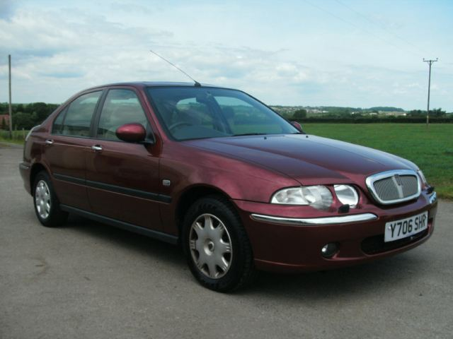 ROVER 45 1.6 CLASSIC green