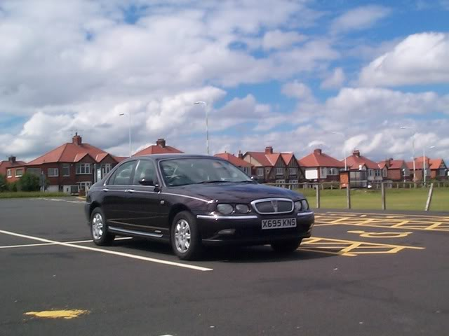 ROVER 75 brown