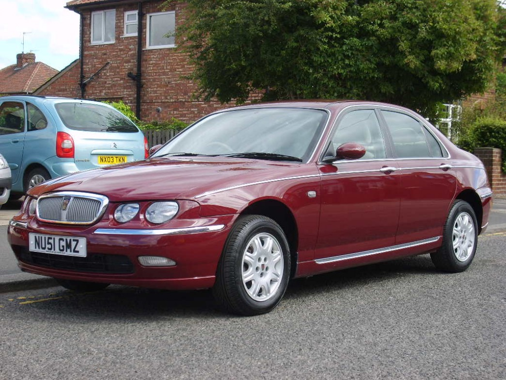 ROVER 75 red