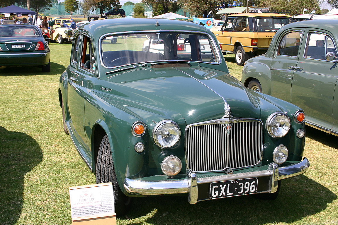 ROVER P4 brown
