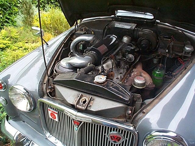 ROVER P4 engine
