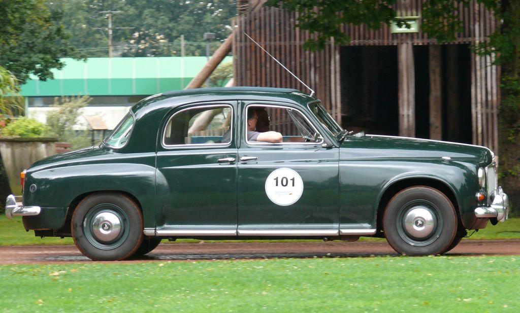 ROVER P4 green