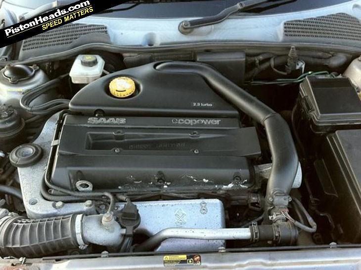 SAAB 95 engine