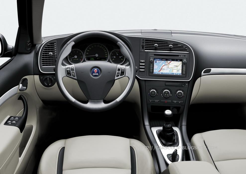SAAB 95 interior