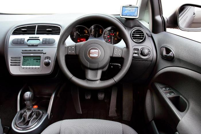 SEAT ALTEA 1.2 interior