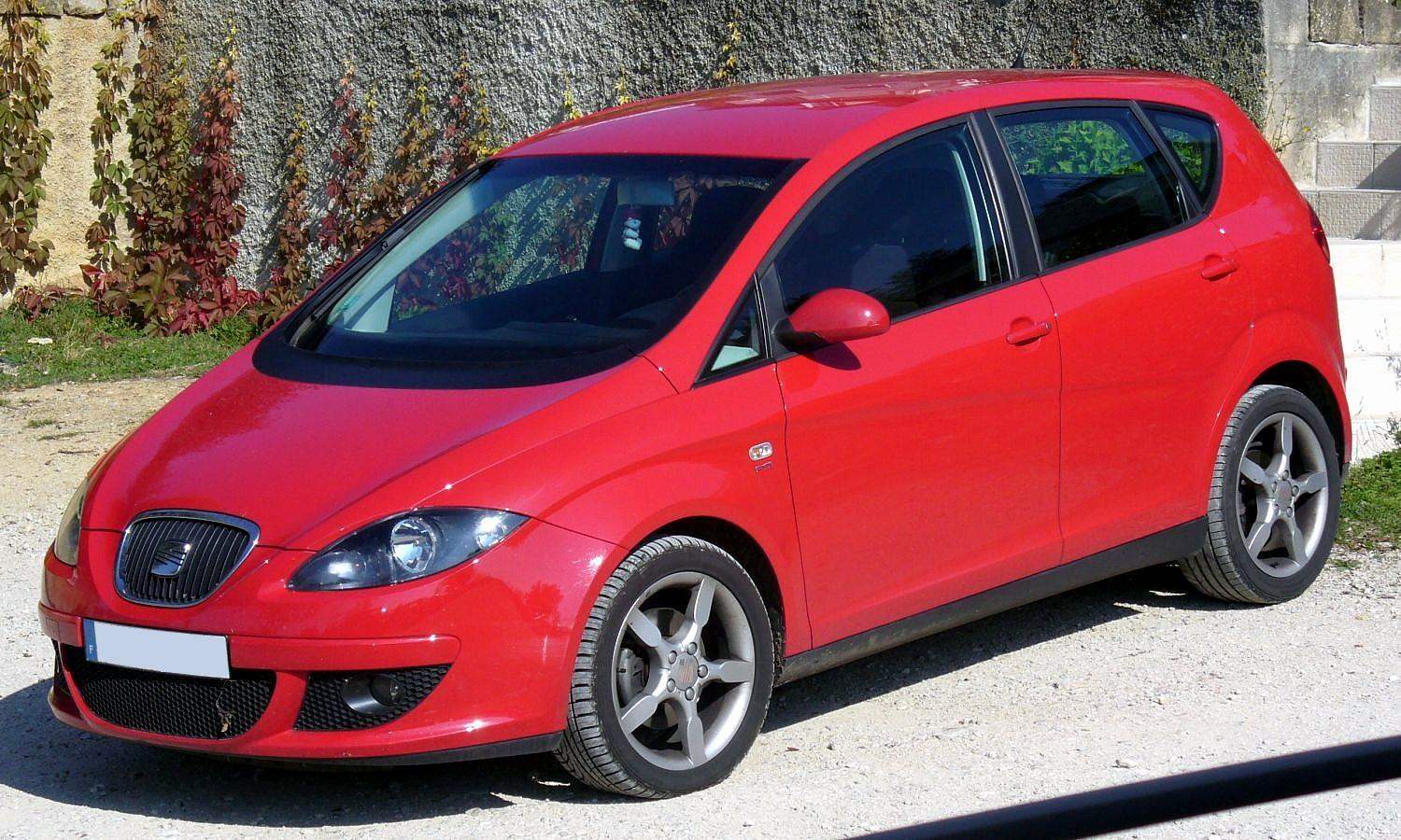 SEAT ALTEA 1.2 red