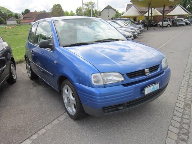 SEAT AROSA 1.0 blue