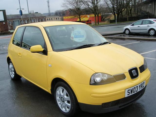 SEAT AROSA 1.0 engine
