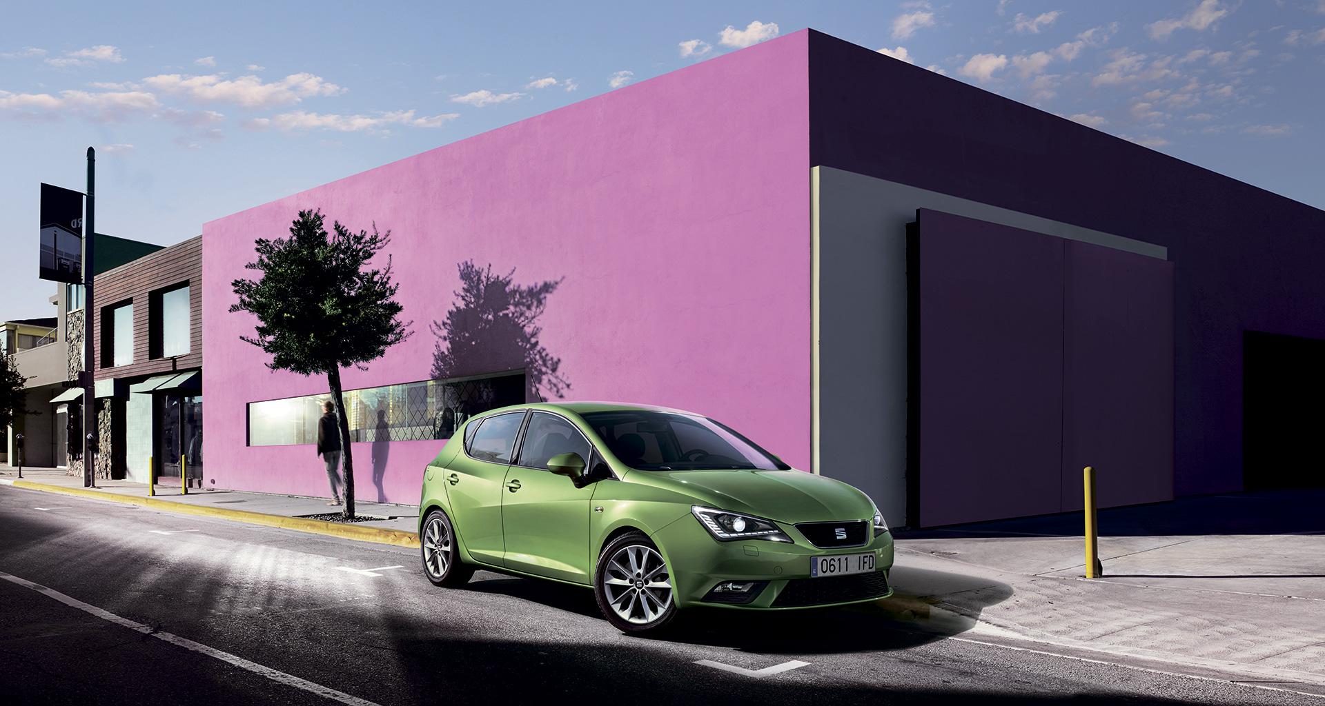 seat wallpaper (SEAT Ibiza)