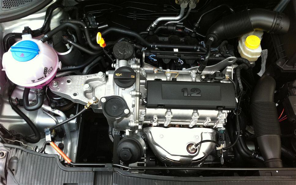 SEAT IBIZA engine