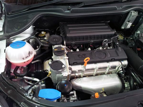 SKODA RAPID engine