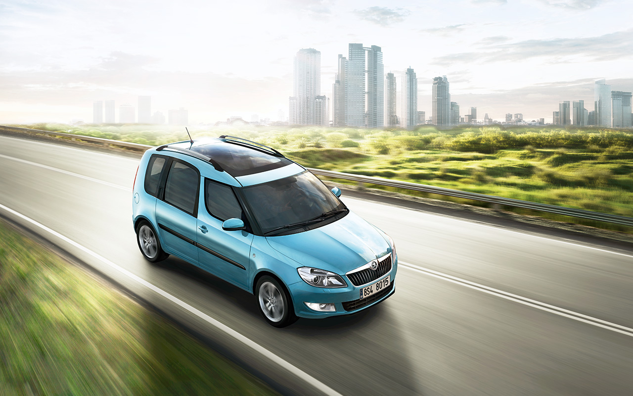 skoda wallpaper (skoda Roomster)