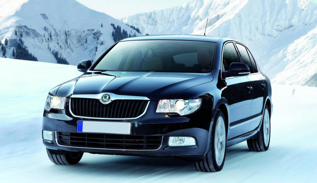 SKODA SUPERB 1.4 engine