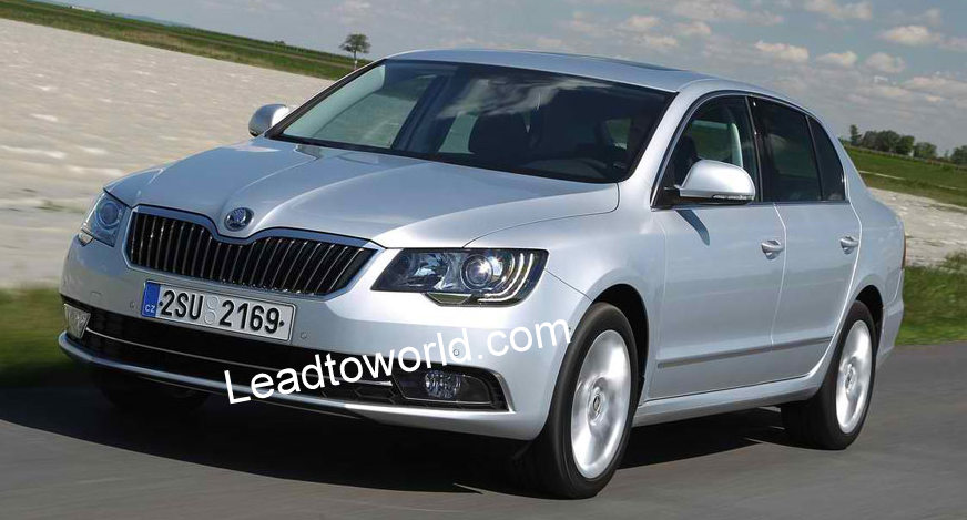 SKODA SUPERB 1.4 interior