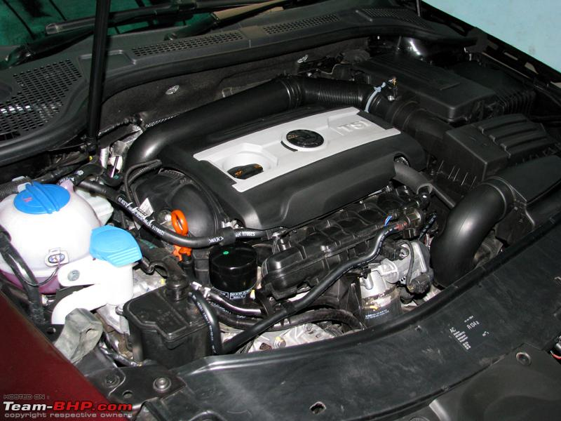 SKODA SUPERB engine