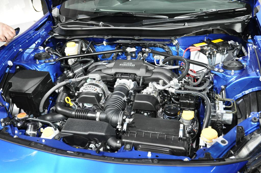 SUBARU BRZ STI engine