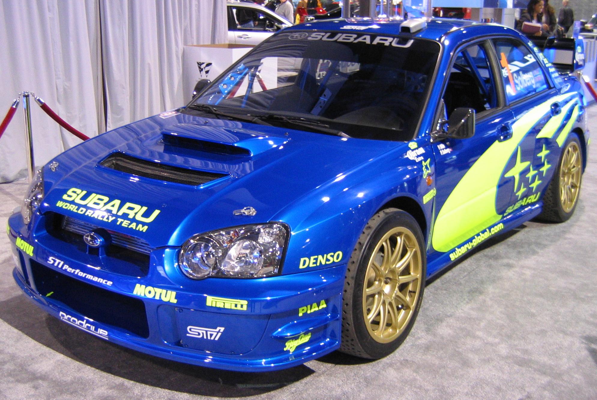 subaru wallpaper (Subaru Impreza)