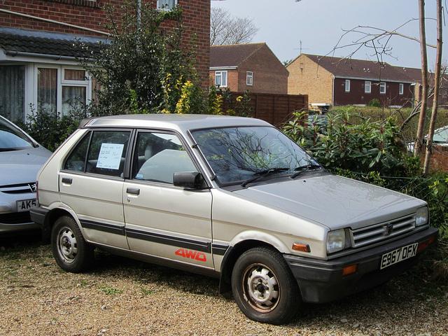 Subaru Justy 1 2