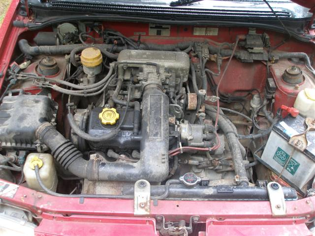 SUBARU JUSTY 1.2 engine