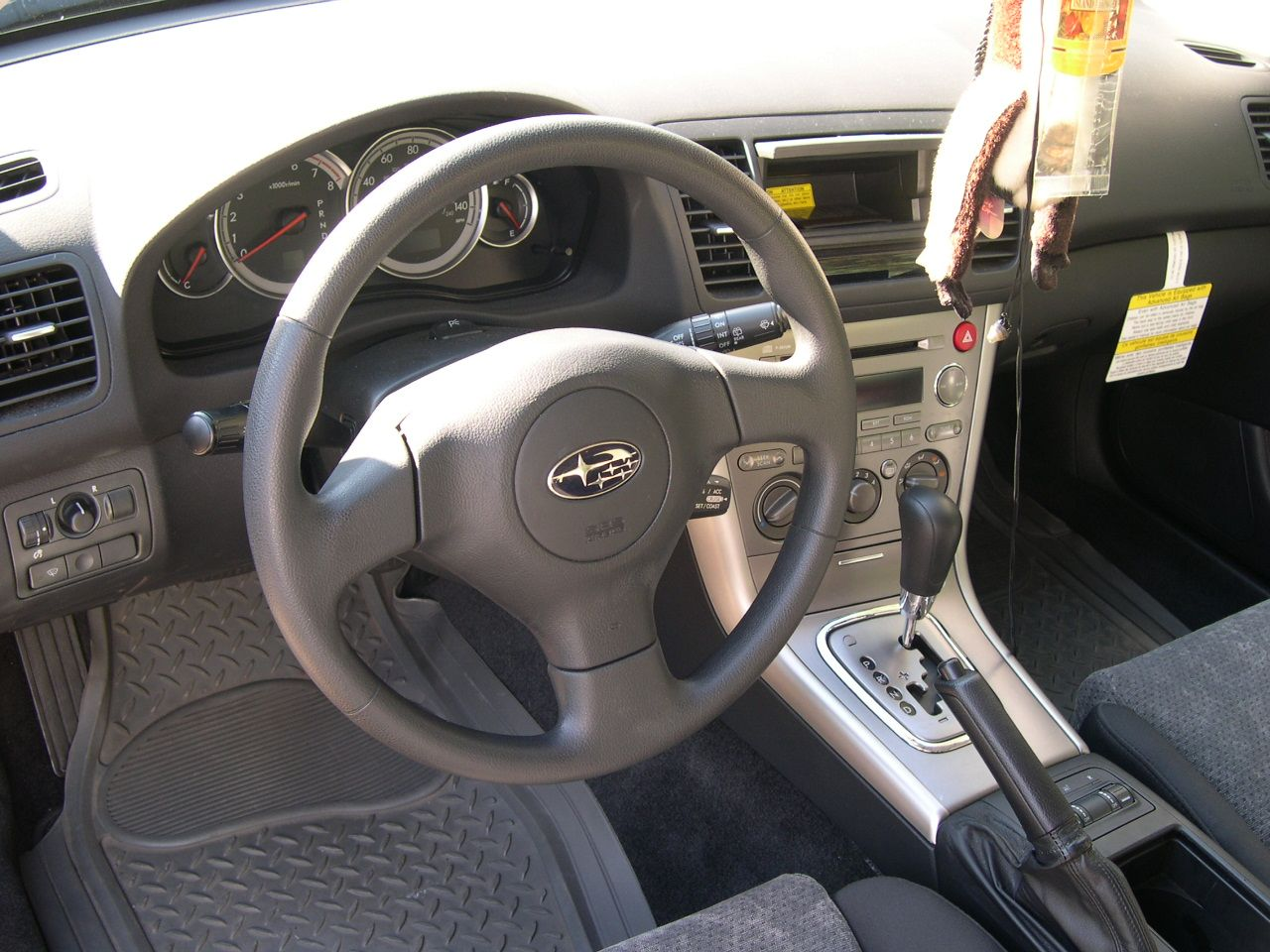 SUBARU OUTBACK 2.5 AT interior