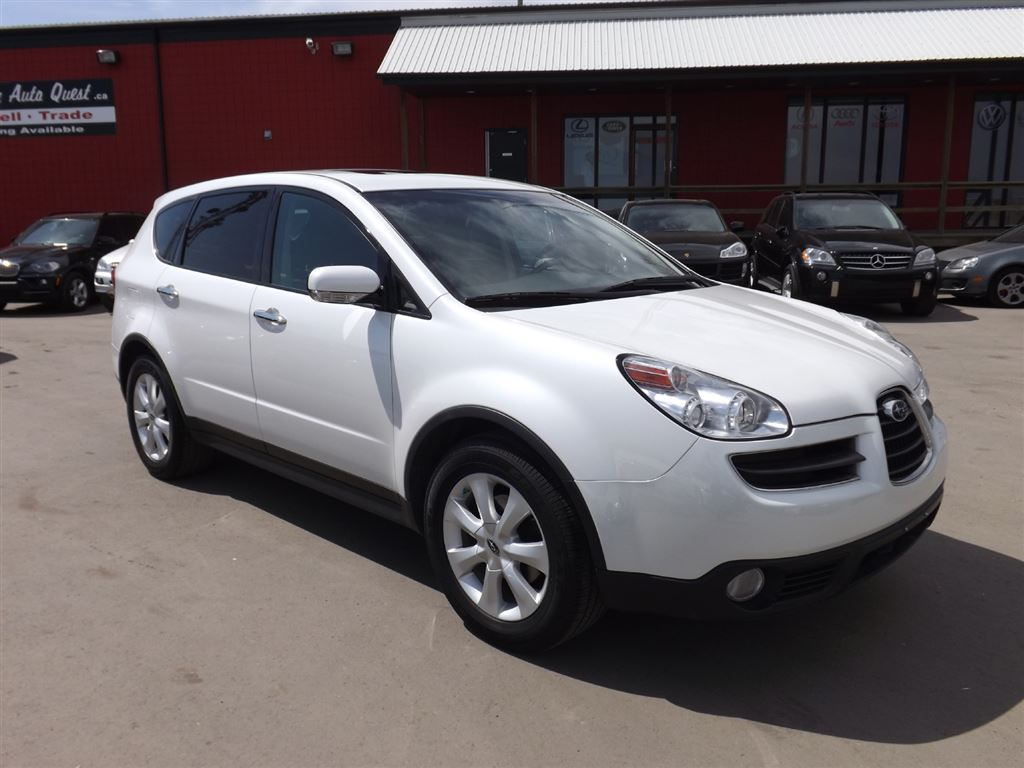 SUBARU TRIBECA 3.0 black