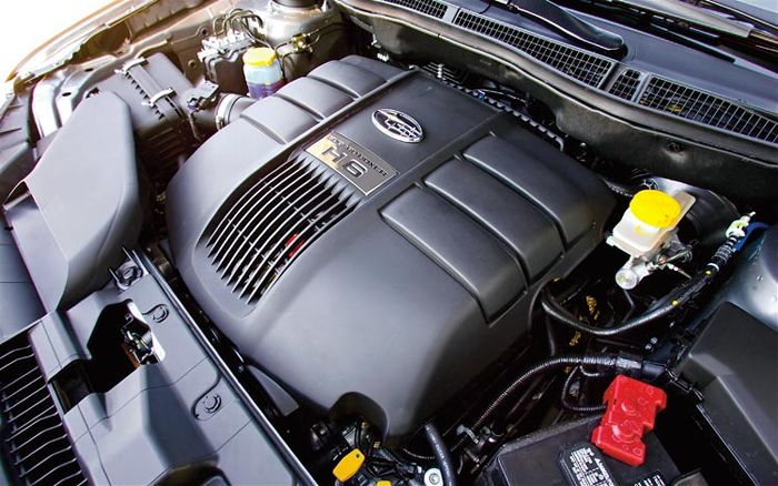SUBARU TRIBECA 3.0 engine