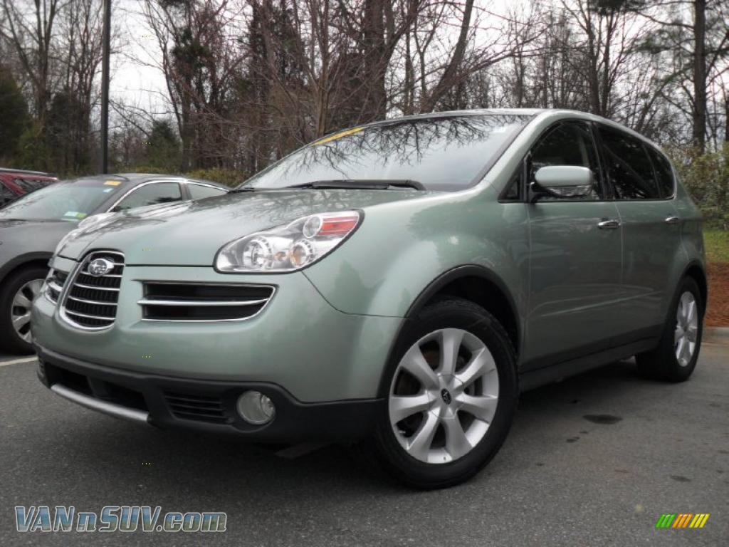SUBARU TRIBECA green
