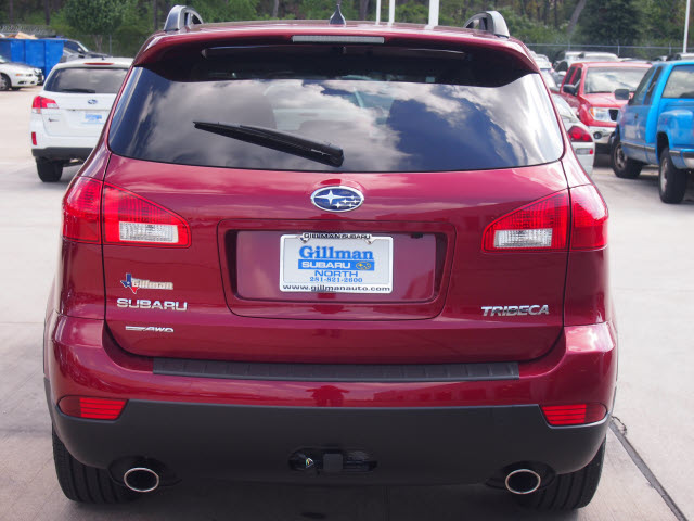 SUBARU TRIBECA red